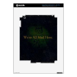 We're All Mad Here iPad 3 Skin