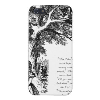 We're All Mad Here iPhone 4S iPhone 5/5S Cases