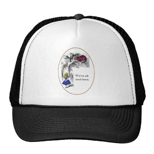 We're All Mad Here Mesh Hat