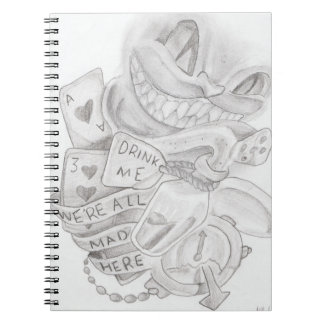 We're All Mad Here - Notebook