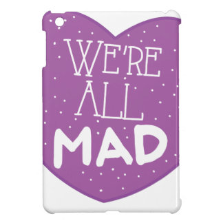 we're all mad purple heart cover for the iPad mini