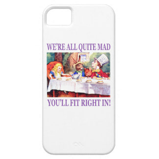 We're All Quite Mad, You'll Fit Right In iPhone SE/5/5s Case