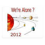 Were Alone Postcard