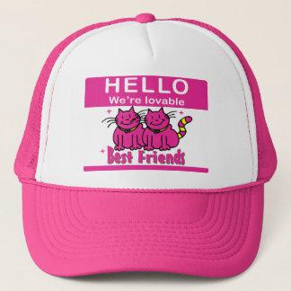 We're Best Friends Trucker Hat