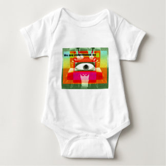 We're conditioned by baby bodysuit