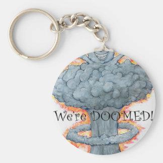 We're DOOMED! Keychain