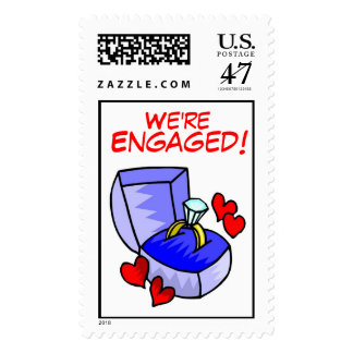 We're Engaged ! (2) Postage