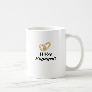 Were Engaged Coffee Mug