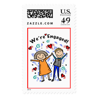 We're Engaged I Stamps
