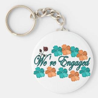 Were Engaged Keychain
