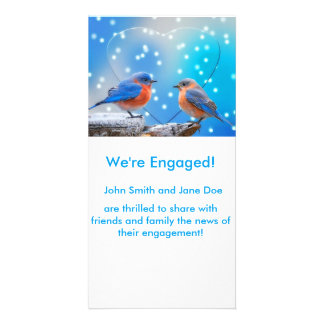 We're Engaged! Personalized Photo Card