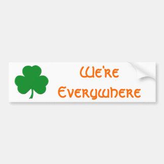 We're Everywhere Bumper Sticker