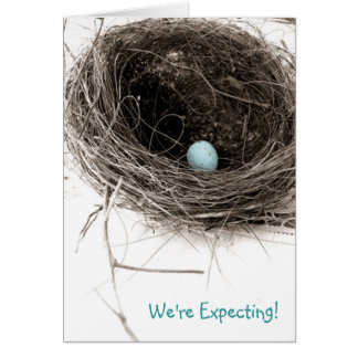 We're Expecting! Boy Card