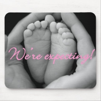 Were expecting! mouse pad
