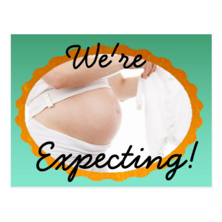 We're Expecting! Pregnancy Announcement Post Card