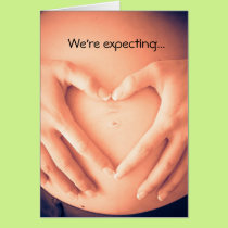 We're Expecting To See You Baby Shower Invitation