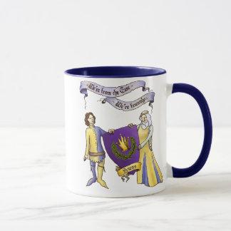 We're Friendly Large Mug. Mug