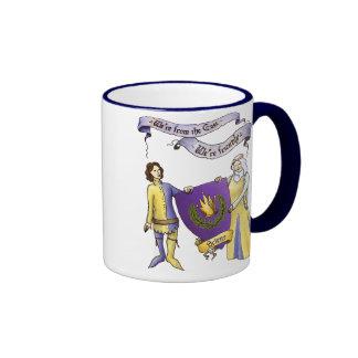 We're Friendly Large Mug. Ringer Mug