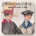 We're Friends Beverage Coasters