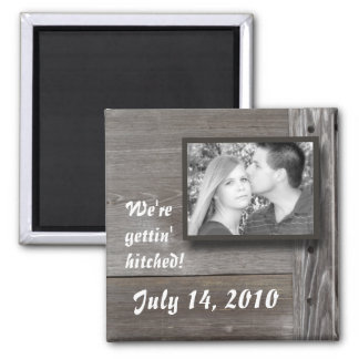 We're gettin' hitched! Magnet