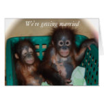 We're Getting Married Sweet and Whimsical Card