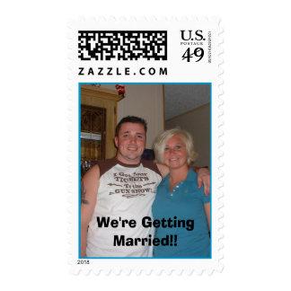 We're Getting Married!, We're Getting Married!! Stamp