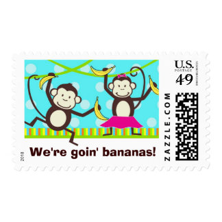 We're Goin' Bananas Postage