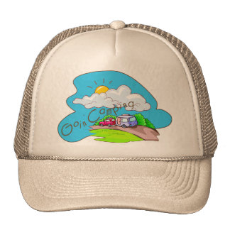 We're Going Camping Trucker Hat