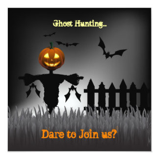 We're going Halloween Ghost Hunting! Do you dare? Card
