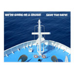 We're going on a Cruise...Save the Date! Post Cards