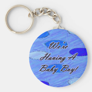 We're Having A Baby 1 Key Chain