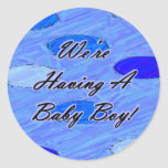 We're Having A Baby 1 Sticker