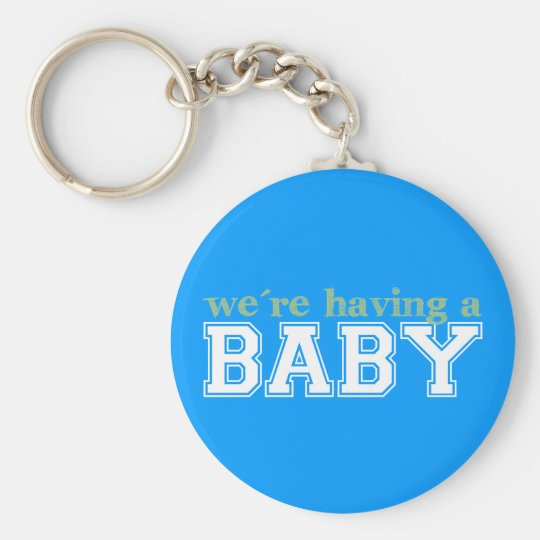 We're Having a Baby! Keychain