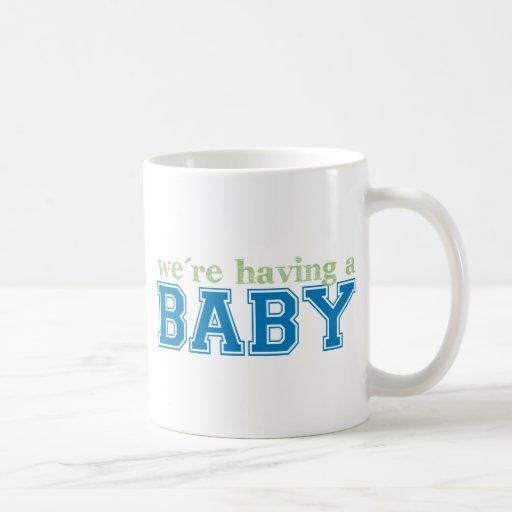 We're Having a Baby! Mug