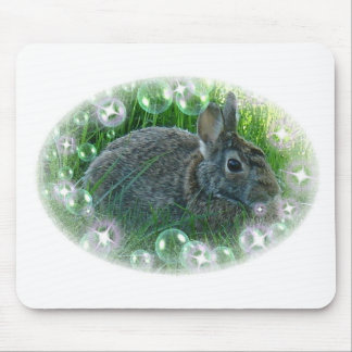 We're Having A Party Bunny Mouse Pad