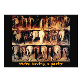 We're Having A Party! Card
