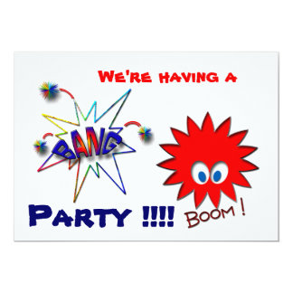 We're having a  Party !!!! Card