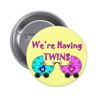 We're Having TWiINS Pinback Button