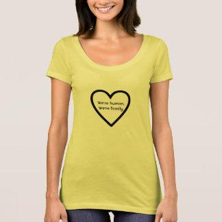 We're Human. We're family Women's T-shirt