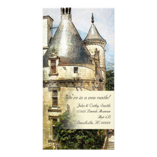 We're in a New Castle Custom New Address Card