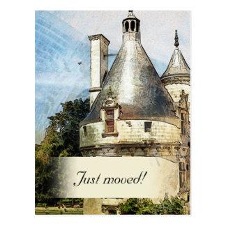 We're in a New Castle Custom New Address Postcard