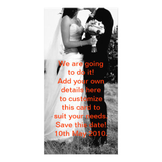 We're in Love! Photo Greeting Card
