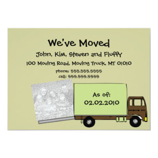 We're Moving Announcement Cards (w/ house photo)