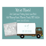 """We're Moving Announcement Cards (w/ house photo) 4.25"""" X 5.5"""" Invitation Card"""
