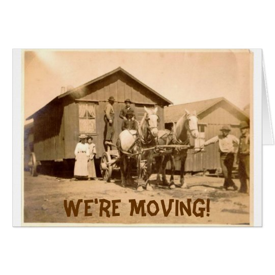 We're Moving Cards! Card