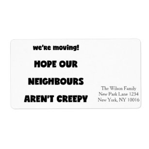 Funny Neighbour Gifts on Zazzle