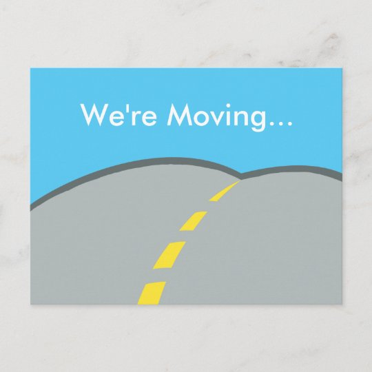 Cheap Design Changes That Have: We're Moving Custom Business Address Change Announcement