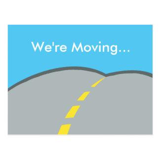We're Moving Custom Business Address Change Postcard