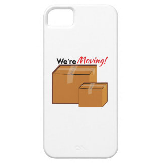 Were Moving iPhone 5 Cover
