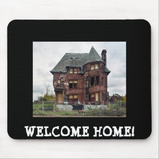 WE'RE MOVING NEW HOUSE MOUSE PAD